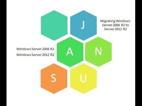 Migrate Server 2008 R2 to Server 2012 R2