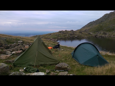 Coniston Day 1 - Wild camping in the Lake District