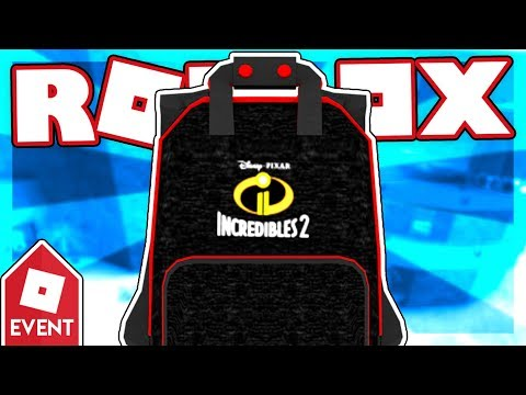 [EVENT] How to get the INCREDIBLES 2 BACKPACK | Roblox Swordburst 2