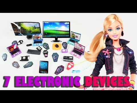 How to make 7 personal electronics for your dolls - Doll crafts - simplekidscrafts