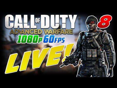 SHOTGUNS SUCK!! Advanced Warfare in 60fps 1080p LIVE #8
