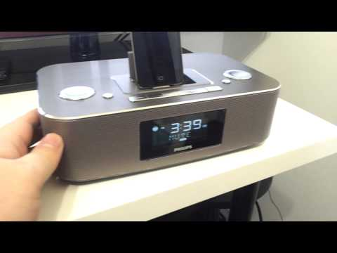 Philips Alarm Clock Radio with Ipod Dock Review