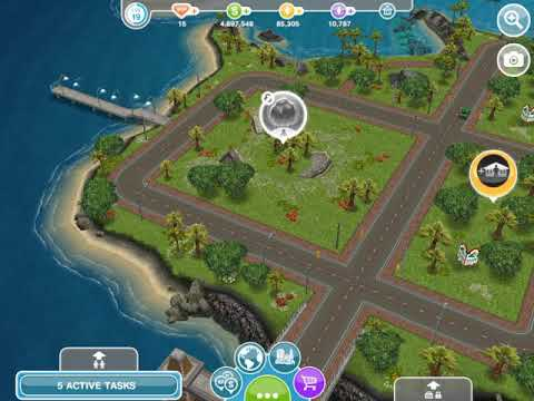 Raider of the lost artifacts : tap on the monuments ~ The Sims Freeplay ~