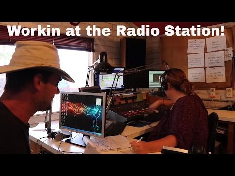 VLOG Episode 2 Radio Station Work!