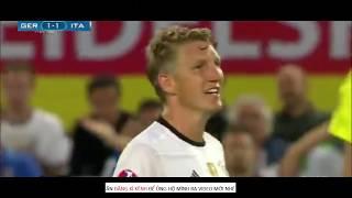 Đức 1-1 (6-5 pen) Italy | Căng Thẳng Và Kịch Tính Đến Phút Chots