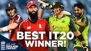 THE BEST IT20! | As Voted for by You! | England v Pakistan 3rd IT20 | IT20 World Cup of Matches