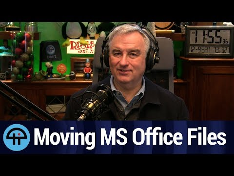 Transferring MS Office Files to a New Computer