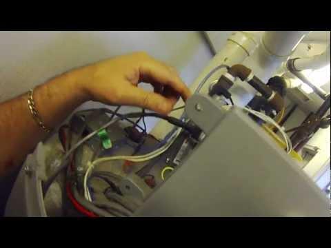 AO Smith Cyclone XI Water Heater, Warning Signal !! Blower Prover Switch, Big John's Service Co.