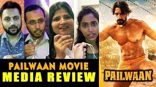 Pailwaan Movie | MEDIA REVIEW | Kichcha Sudeep, Suniel Shetty | Pehlwaan