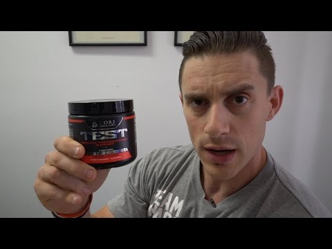 Core Nutritionals Core TEST Testosterone Booster Supplement Review - MassiveJoes.com Raw Review