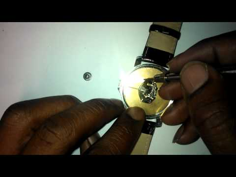 WRISTWATCH REPAIR: faulty watch not WORKING,