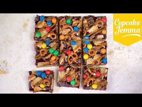 Filthy Flapjack Recipe | Cupcake Jemma