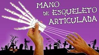 SUSCRÍBETE!: http://goo.gl/CNeicz Comenzamos la NUEVA TEMPORADA de TDCSH con esta mano de esqueleto articulada, una manualidad muy fácil de hacer y con un resultado impresionante. Monta esta mano de esqueleto y diviértete en halloween asustando a tus amigos. PLANTILLAS: http://www.tedigocomosehace.com/download/plantillas-mano-esqueleto-articulada/ MATERIALES Y HERRAMIENTAS: http://www.tedigocomosehace.com/categoria-producto/por-tutoriales/mano-esqueleto-articulada/ ÚNETE AL CLUB TDCSH: http://www.tedigocomosehace.com/ SIGUENOS EN: Twitter: https://twitter.com/TDCSH Facebook: https://www.facebook.com/TeDigoComoSeHace Instagram: http://instagram.com/tdcsh  Suscríbete a Nuestros Otros Canales Para No Perderte Nada. Fernando: http://www.youtube.com/user/FernandoTDCSH Juan: http://www.youtube.com/user/JuanTDCSH Pablo: http://www.youtube.com/user/PabloTDCSH El Show de la Araña Cuenta Chistes: https://goo.gl/ea5lZF