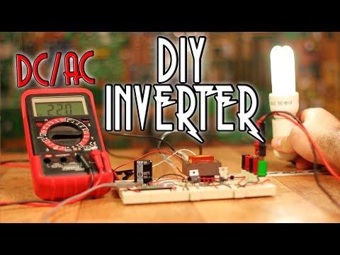 DIY Inverter tutorial - Arduino or 555