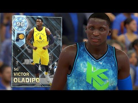 DIAMOND VICTOR OLADIPO GAMEPLAY!! CRAZY ANKLE BREAKER!! (NBA 2K18 MYTEAM)