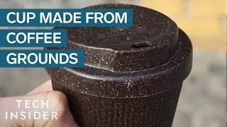 How A Company In Berlin Is Turning Coffee Grounds Into Reusable Cups