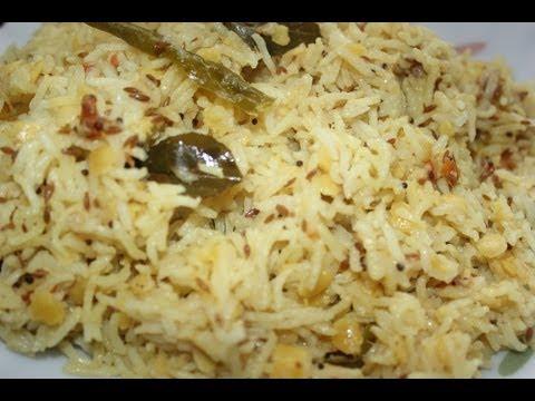 Dal Rice - Quick recipe
