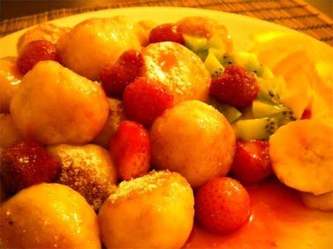 Strawberry  Dumplings -  Knedle   Z  Truskawkami,  The Polish  Way.