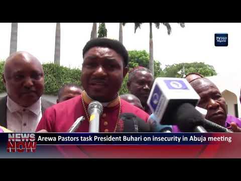 Arewa Pastors task President Buhari on insecurity in Abuja meeting