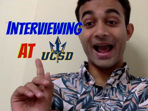 INTERVIEWING/VLOGGING AT UCSD SCHOOL OF MEDICINE!