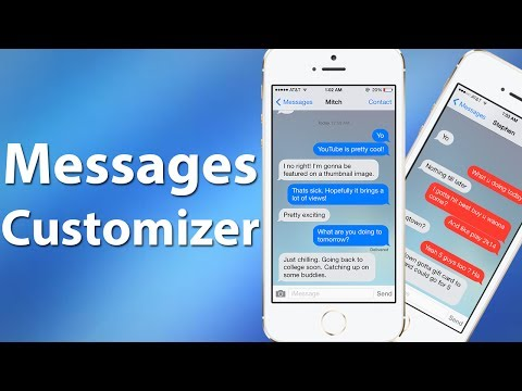 Messages Customiser - Customize iOS Messages App with Bubble Colors, Backgrounds, & More!