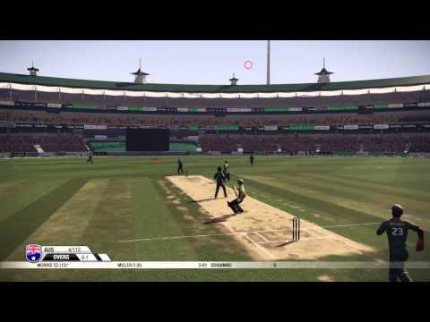 Don Bradman Cricket |PS4| Australia vs Kenya ONE DAY [Ep. 1]