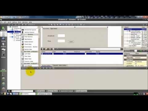 Develop a Sine Wave Generator program using QT C++| Scientific Computing