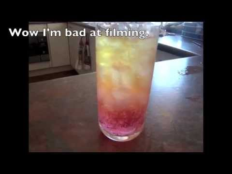 DIY - How to make layered drinks