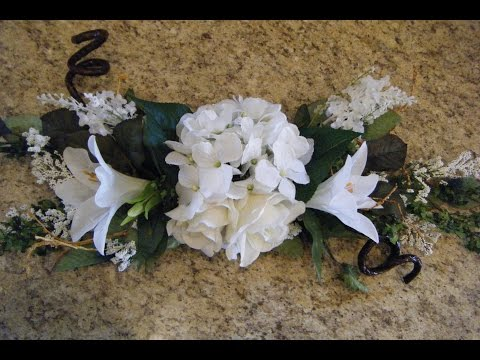 Wedding Decor - How to Make Swags