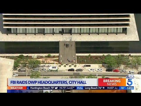 Xxx Mp4 FBI Serves Search Warrants At LADWP Headquarters L A City Hall 3gp Sex
