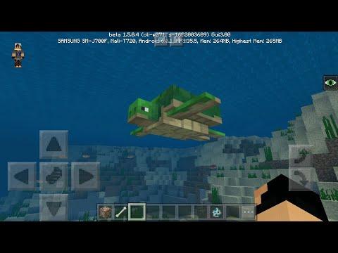 NEW MCPE BETA...TURTLES (how to get beta)