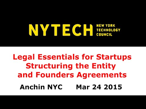 NYTECH Legal Essentials Part 1 of 4