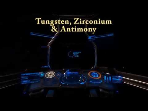 Elite Dangerous Tungsten, Zirconium & Antimony