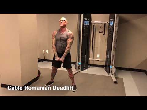 How to do the Cable Romanian Deadlift