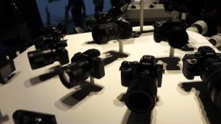 Sony at CES 2016 - imaging products