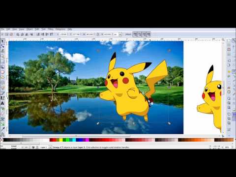 Inkscape Bitmap to Vector Conversion
