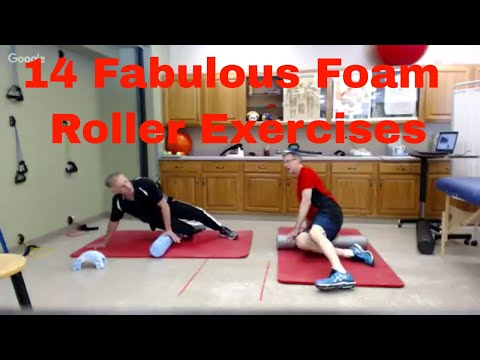 14 Fabulous Foam Roller Exercises to Get Rid of Knots-Full Body
