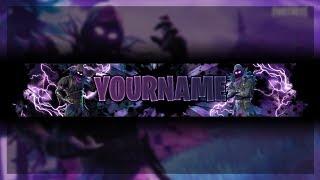 Fortnite Raven Youtube Banner Free Fortnite Channel Art