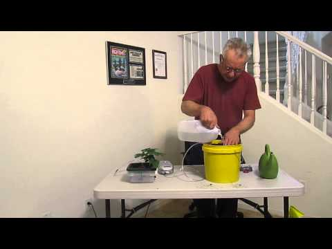 How to transplant in soil with air injection technology for soil.