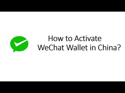 WeChat - How to open WeChat Wallet?
