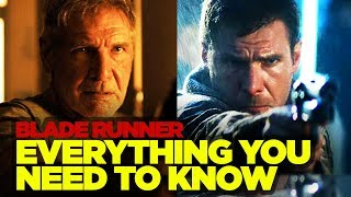 Blade Runner Original RECAP - Everything You Need to Know Before Blade Runner 2049