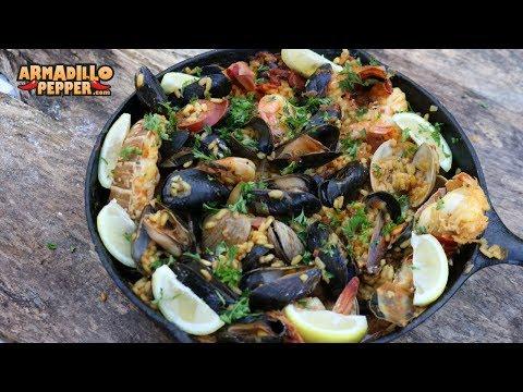 How to Make Paella | Seafood Paella with Chorizo