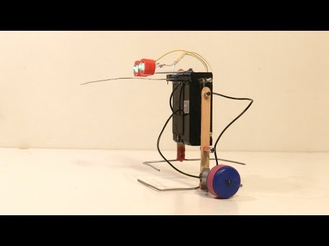 How To Make a Simple Walking Robot That Can Avoid Obstacles