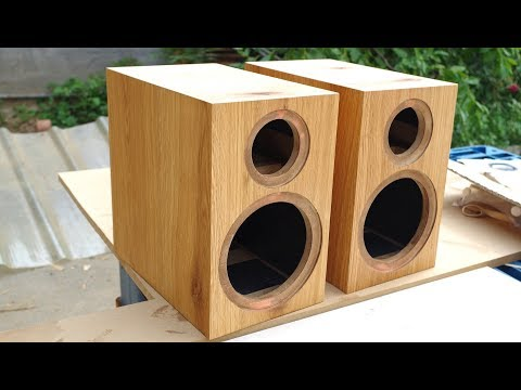 Build a Loudspeaker Box by a Router