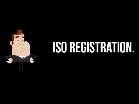 ISO Registration.