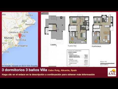3 dormitorios 3 baños Villa se Vende en Cabo Roig, Alicante, Spain