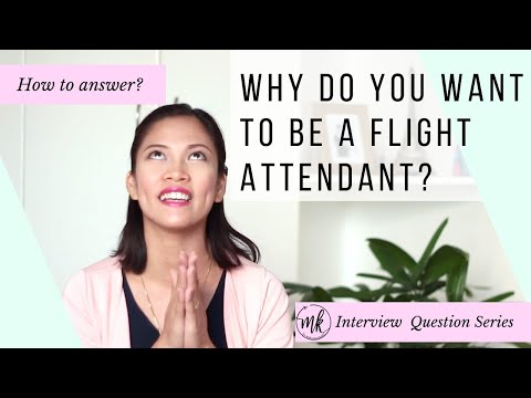 Why do you want to be a Flight Attendant? |MISSKAYKRIZZ (Philippines)