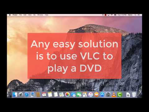 How to play a DVD with VLC on a Mac