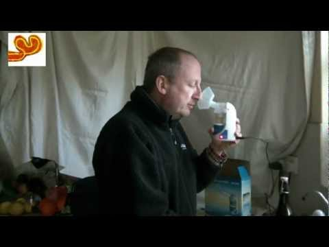 Nebulising with Colloidal Silver Demo