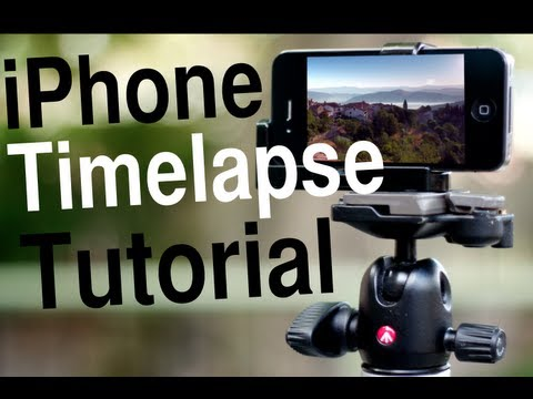 Shooting Timelapses with an iPhone
